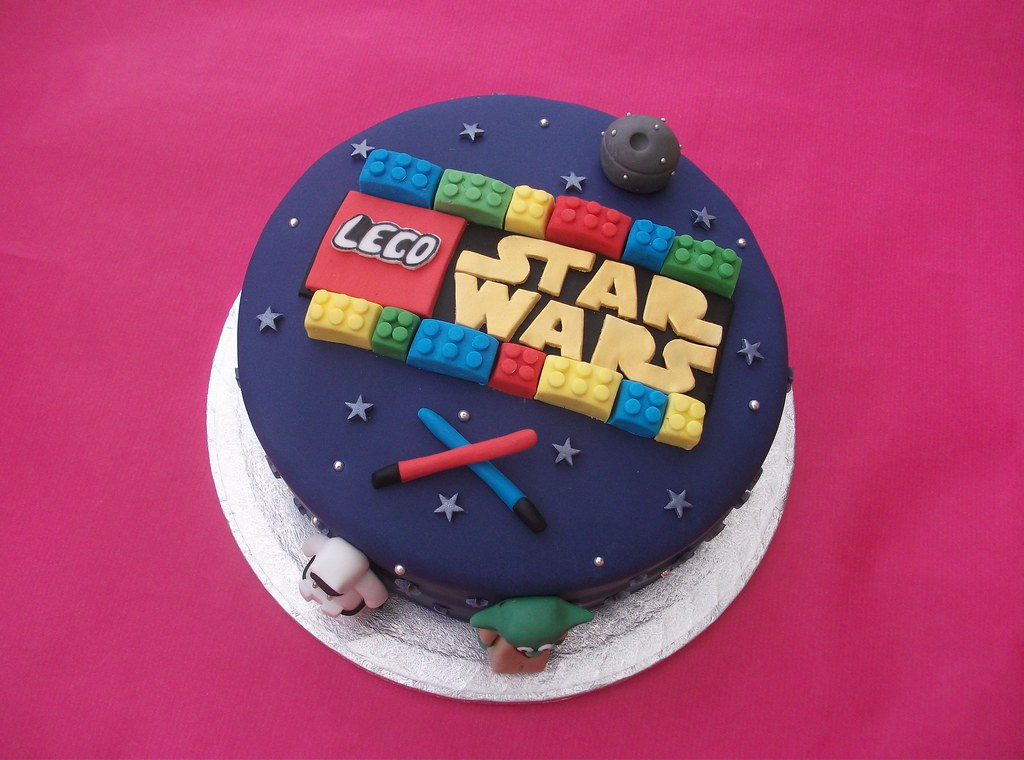 star wars legos cakes