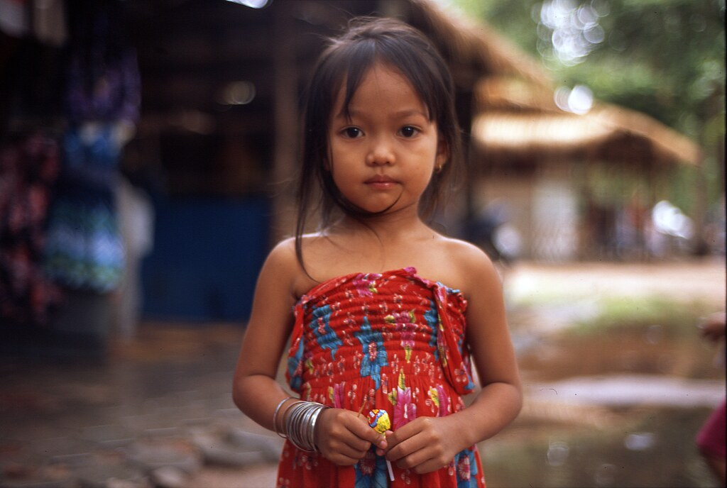 Little girl angkor thom totalitarism flickr Tiny girl teen