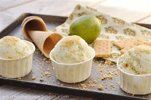 Key Lime Pie Ice Cream | by yourhomebasedmom