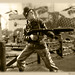 US Infantry: Flame Thrower (sepia)