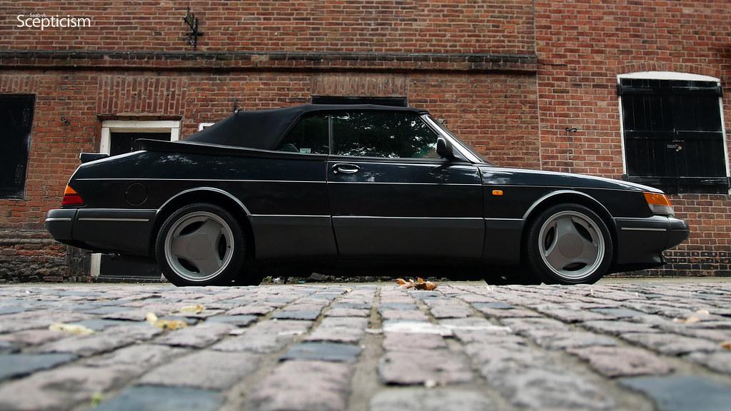saab 900 classic convertible now with hidden abbott racing flickr. Black Bedroom Furniture Sets. Home Design Ideas