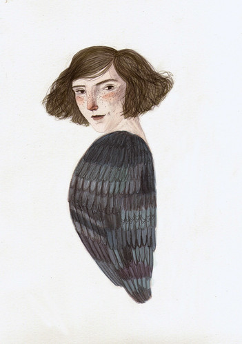 bird girl | by Lizzy Stewart