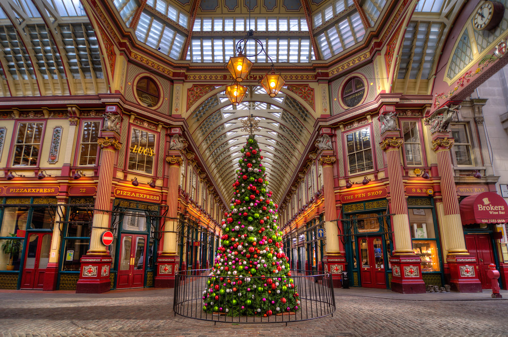 The Leadenhall Market Is Ready For Christmas Hdr Flickr