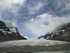 Glacier under Sky