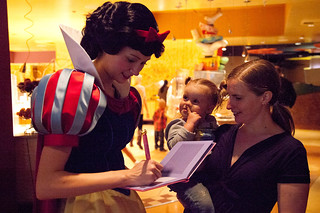 Snow White, Daria and Ellen at Pluto's Diner | by DanDawson