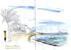 Malaga - 35th Sketchcrawl - waves exercice