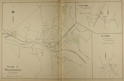 Page 286 & 287 of Town and city atlas of the State of Connecticut. / Compiled from government surveys, county records and personal investigations | by uconnlibrariesmagic