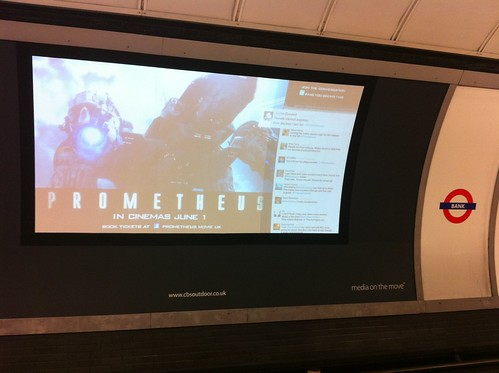 Prometheus Twitter billboard | by gwire