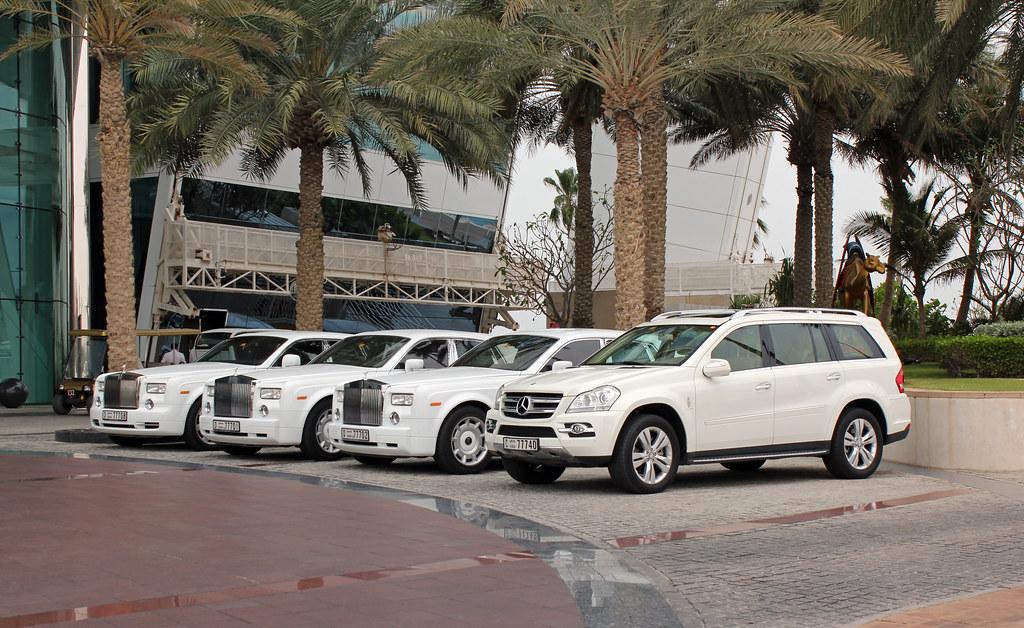 Rolls Royce Service Burj Al Arab Hotel Dubai Rolls