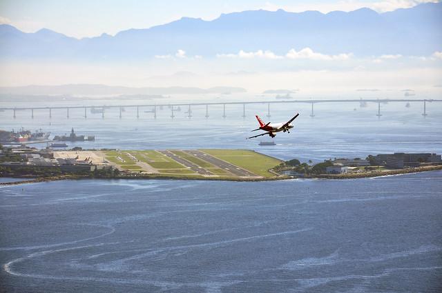Aeroporto Santos Dumont : Morro da urca aeroporto santos dumont foto alexandre