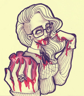 Hipster Zombie | by Italo Figueiredo