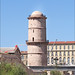 Le fort St Jean et la passerelle avec le MuCEM (Marseille)
