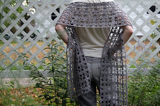 spring woods shawl | by so NOT cool