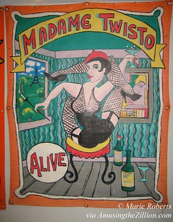 Madame Twisto Banner by Marie Roberts | by me-myself-i