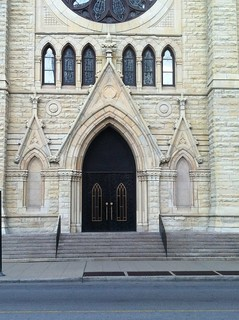 Portal of Holy Name Cathedral, Chicago - playful Gothic Revival | by Michael Tinkler