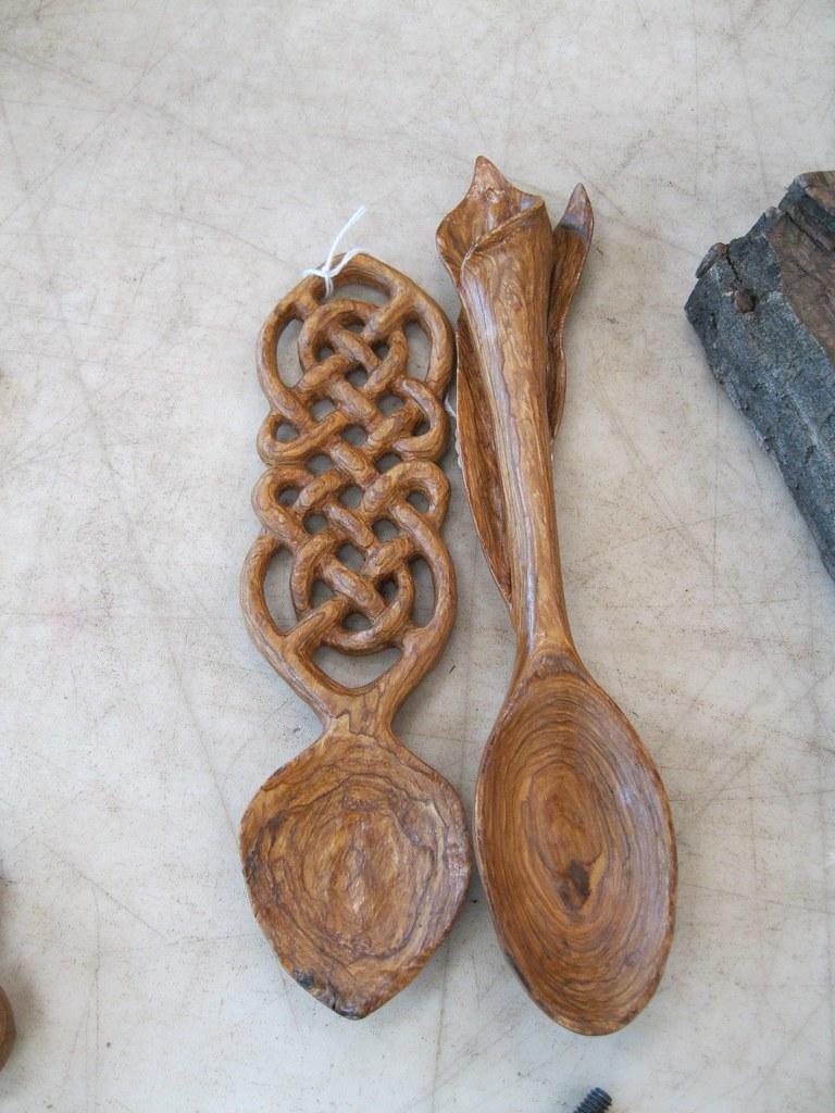 Celtic Love Spoon Workshop Bark Carving Creations