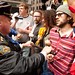 OWS scuffles with NYPD on May Day
