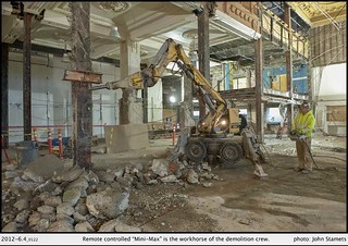 King Street Station Seismic Retrofit Progress | by Seattle Department of Transportation