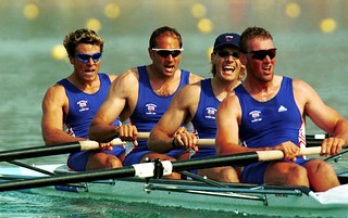Steve Redgrave and the British rowing team at Sydney 2000. Photo: Ross Kinnaird/ALLSPORT | by Royal Opera House Covent Garden