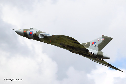 Avro Vulcan B2 XH558 (the Spirit of Great Britain), RIAT 2012 | by Mr T'
