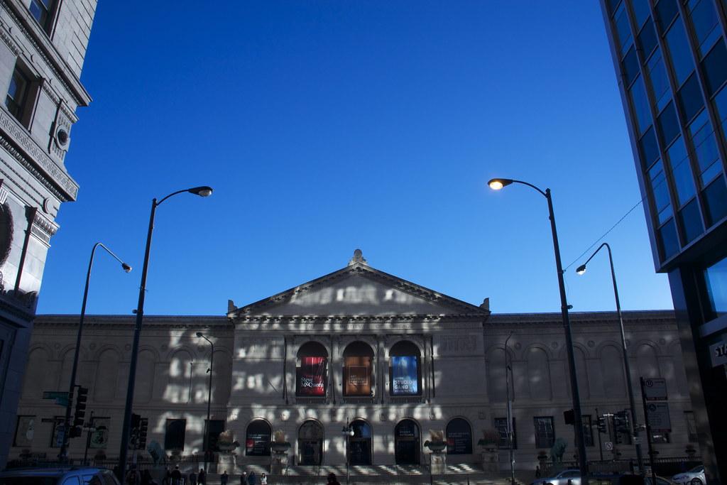 Art Institute Of Chicago In Morning Light Daniel X O