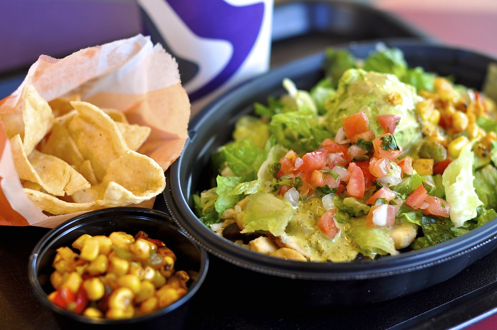 Taco Bell Chicken Cantina Bowl Combo  Taco Bell Chicken -7901