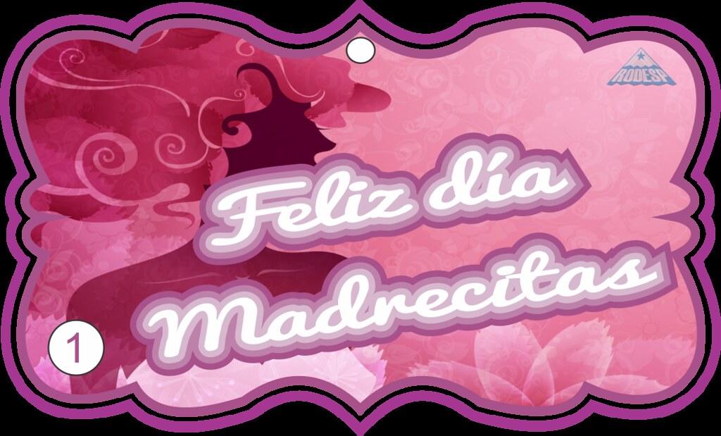 Gafetemadre2 gafetes para el festival del dia de las for Decoracion para pared dia de la madre