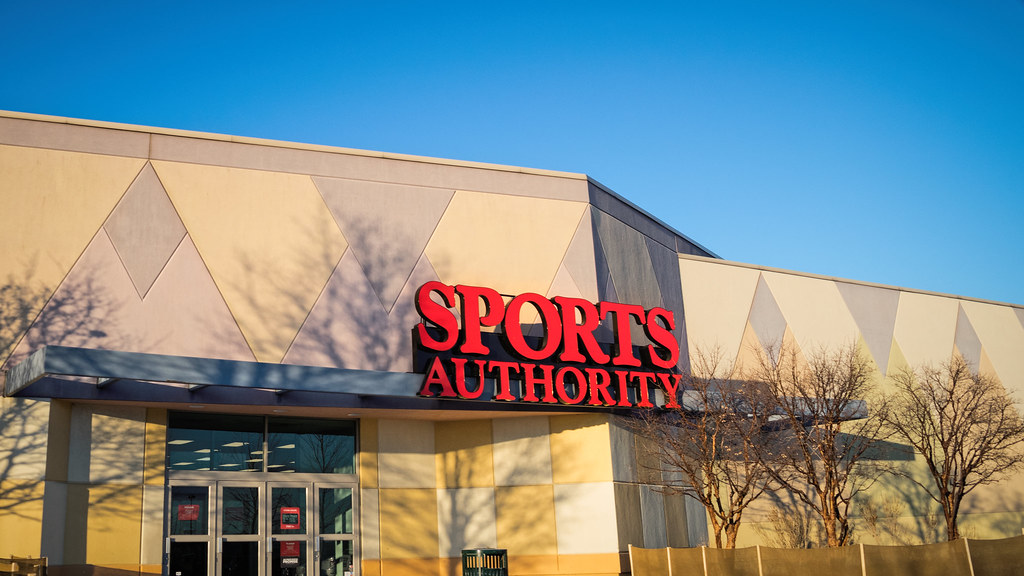 Sports Authority Former Sportmart Store And Soon To Be