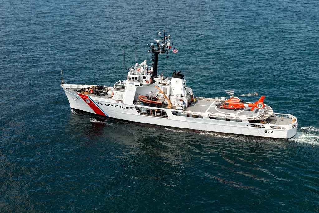 shipboard training aboard coast guard cutter dauntless