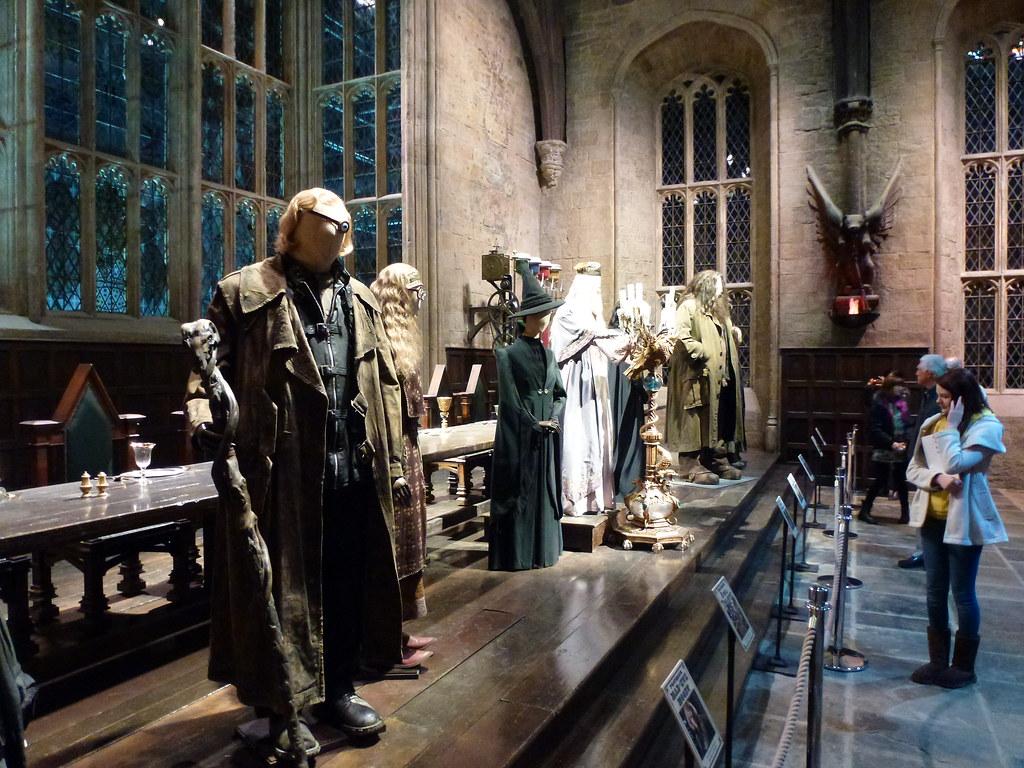 Hogwarts Great Hall Harry Potter Tour Warner Bros Studios