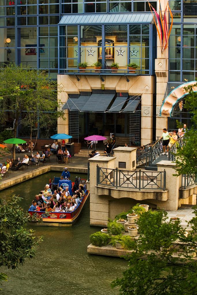 San Antonio Rivercenter Mall Resembling A Monolithic