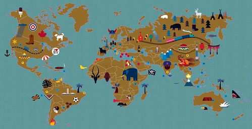 world map | by suzy_yes