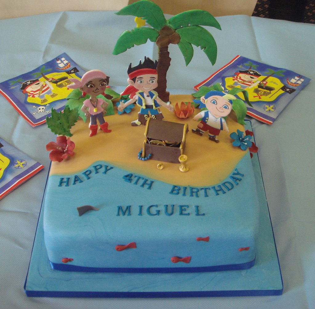 Images Of Jake And The Neverland Pirates Cakes