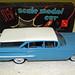 1960 Chevrolet Nomad Station Wagon Promo Model Car - Ermine White over Horizon Blue