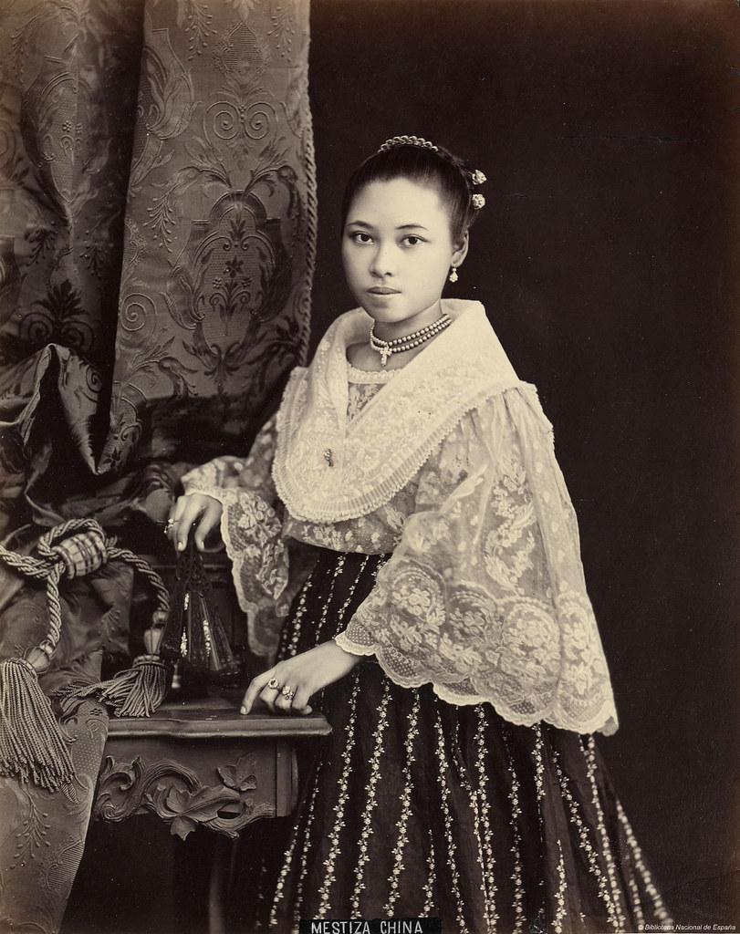 Mestiza China  Lbum De Filipinas Publicacin , Ca -7392
