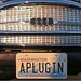 EV license plate - APLUGIN