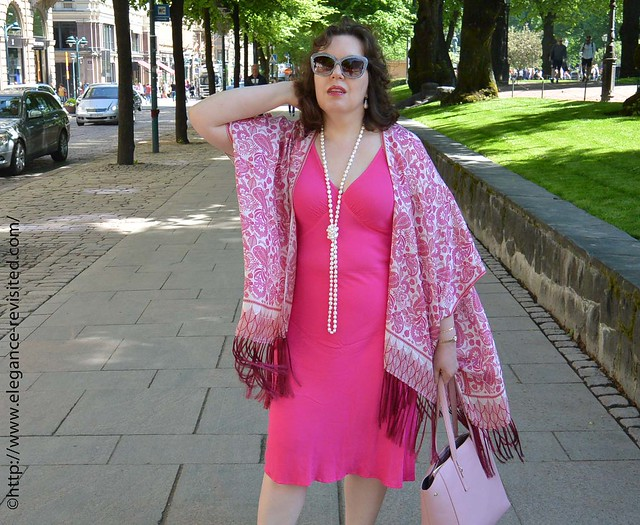wearing pink over 40