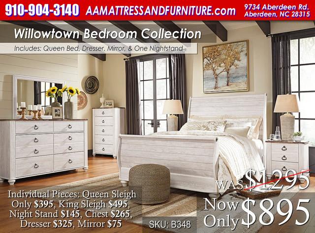 Willowtown Bedroom Set WM
