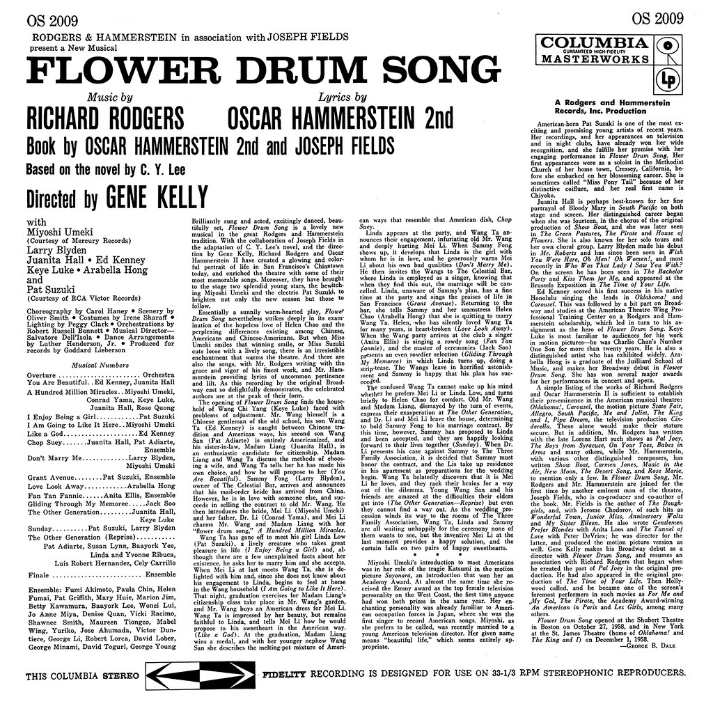 Rodgers & Hammerstein ‎– Flower-Drum Song