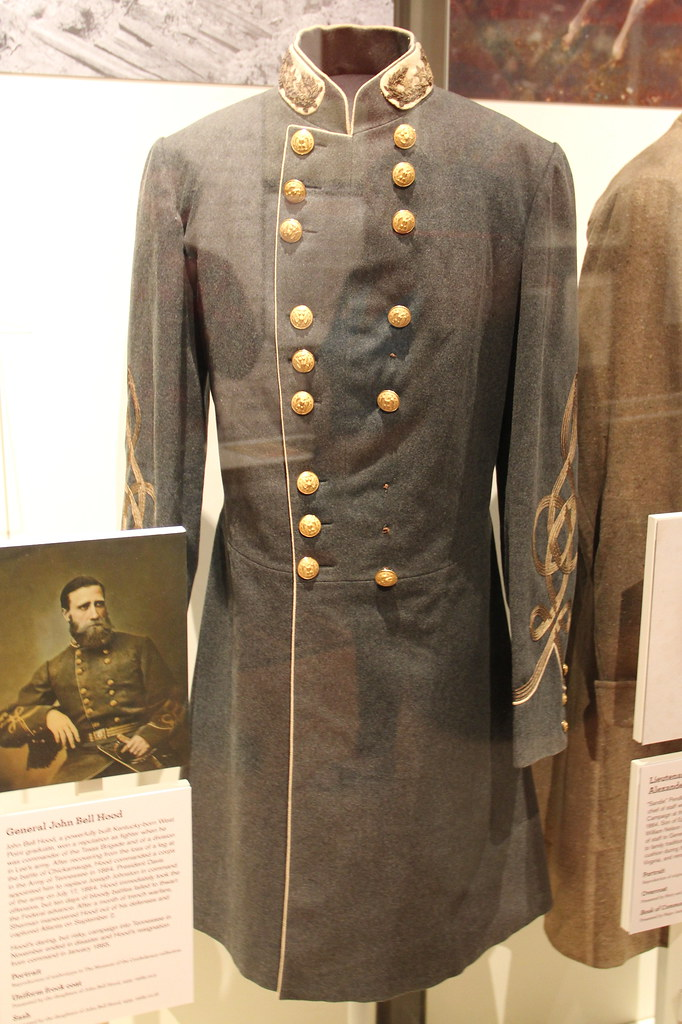 uniform frock coat of general john bell hood