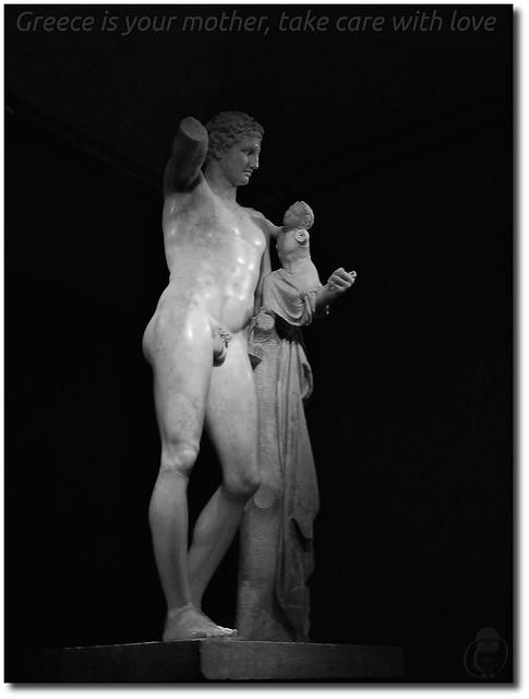 Praxíteles - Hermes con Dionisos niño   Explore nemomemini's…   Flickr - Photo Sharing!