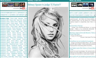 Screen Shot On Web: http://daily-protein.blogspot.com/2012/04/britney-spears-to-judge-x-factor.html | by Daily Protein