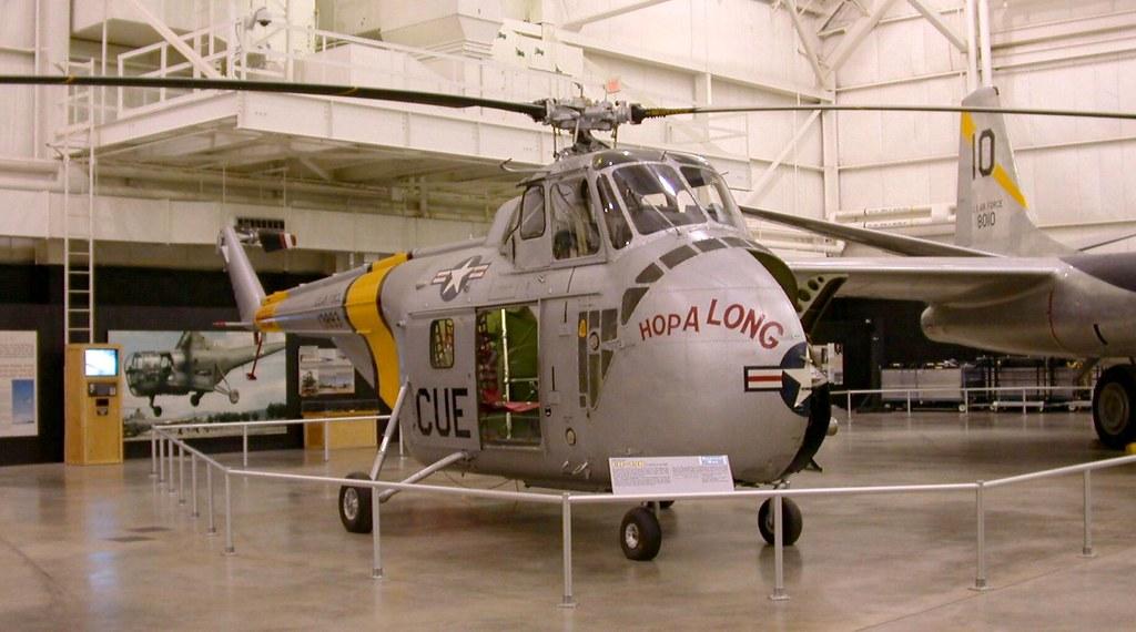 Yas55 2b Sikorsky Uh 19b S 55 Usaf Museum Dayton