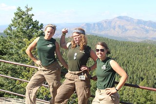 Emily, Alex, and Shelley | by Mile High Youth Corps