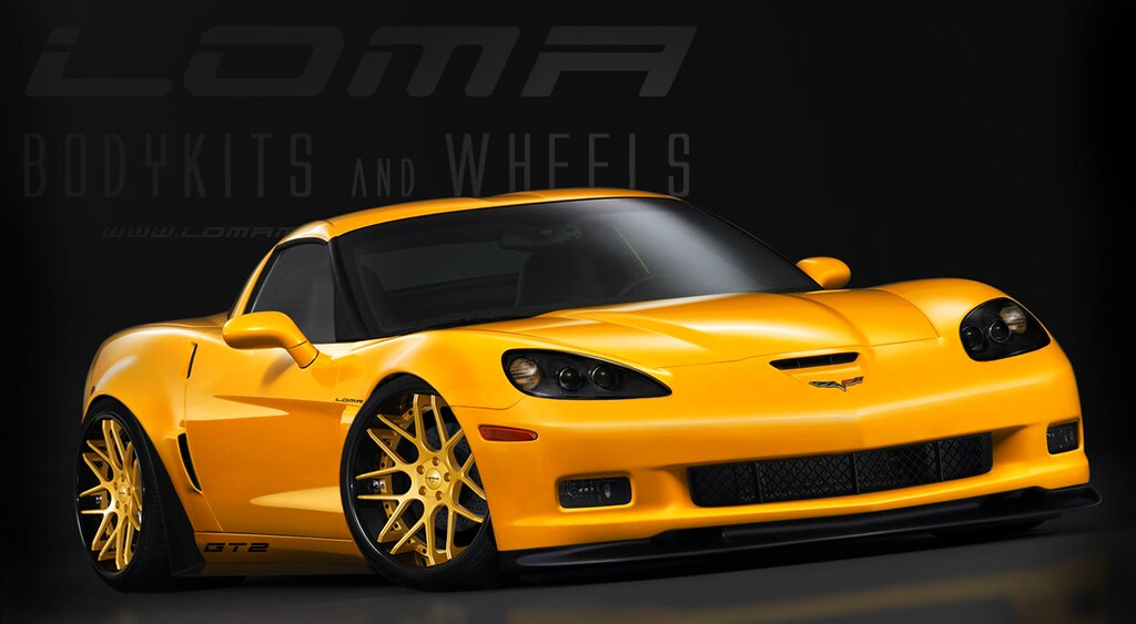 loma motorsports corvette c6 z06 gt2 wide body conversion flickr. Black Bedroom Furniture Sets. Home Design Ideas