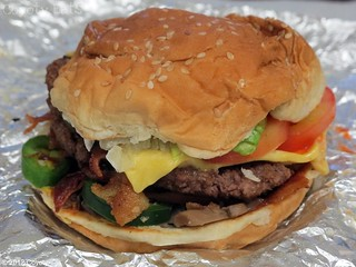 Five Guys fireworks burger | by Coyoty