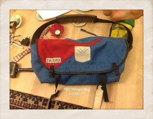 1990 Timbuk2 Messenger with Wings Patch | by Timbuk2 Designs