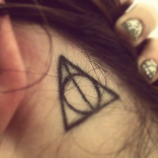 deathly hallows | by christinaaaaa davis