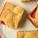 strawberry white chocolate brownies 9