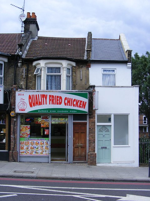 Quality Fried Chicken And The Narrowest House In London